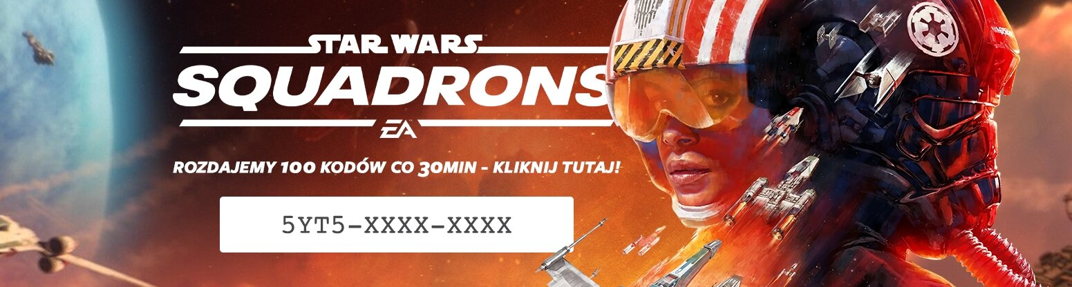 3 PL Star Wars: Squadrons - Free codes