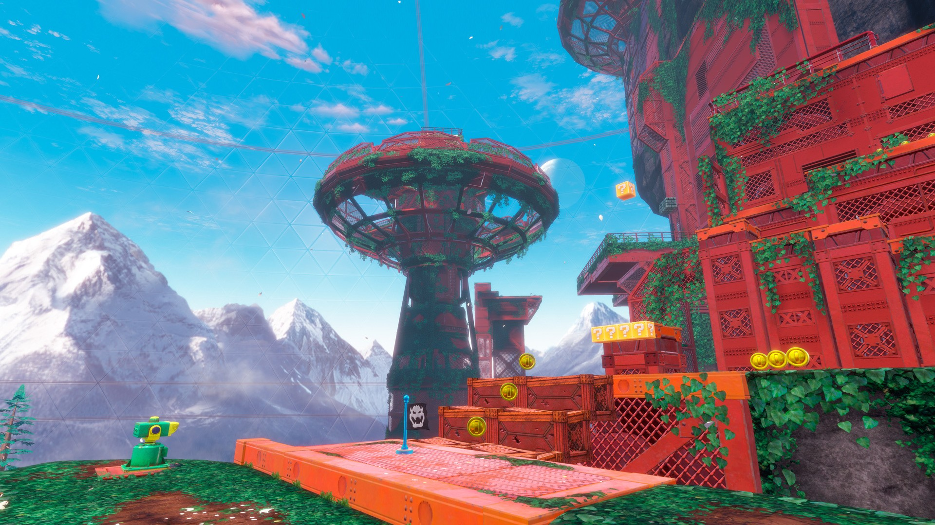 mario odyssey wallpaper pc