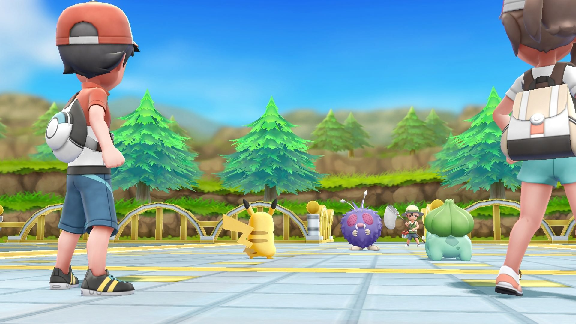Pokémon: Let's Go, Pikachu! Switch (Europe)