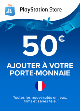 PlayStation Network Card 50€ (France)